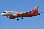 Airbus A319-112 - VP-BBU operated by Rossiya Airlines