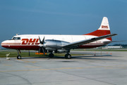Convair CV-580 - OO-DHE operated by DHL (European Air Transport)