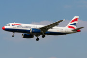 Airbus A320-232 - G-EUUC operated by British Airways