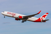 Boeing 767-300ER - C-FMLZ operated by Air Canada Rouge
