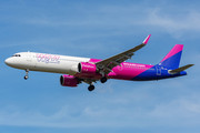 Airbus A321-271NX - HA-LVE operated by Wizz Air