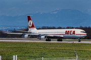 Boeing 707-320C - OD-AHD operated by Middle East Airlines (MEA)