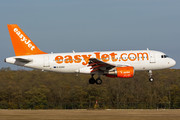 Airbus A319-111 - G-EZAO operated by easyJet
