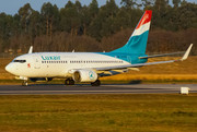 Boeing 737-700 - LX-LGS operated by Luxair