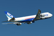 Boeing 747-8F - JA11KZ operated by Nippon Cargo Airlines (NCA)
