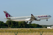 Airbus A330-302 - A7-AEO operated by Qatar Airways
