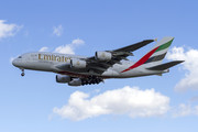 Airbus A380-861 - A6-EDE operated by Emirates