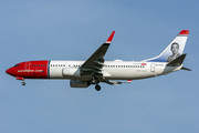 Boeing 737-800 - EI-FVZ operated by Norwegian Air International