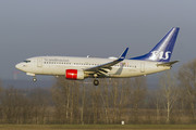 Boeing 737-700 - LN-TUJ operated by Scandinavian Airlines (SAS)