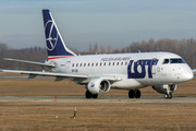 Embraer E170LR (ERJ-170-100LR) - SP-LDE operated by LOT Polish Airlines