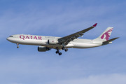 Airbus A330-302 - A7-AEG operated by Qatar Airways