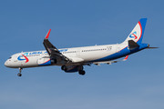 Airbus A321-231 - VP-BSW operated by Ural Airlines