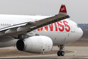 Airbus A330-343 - HB-JHG operated by Swiss International Air Lines