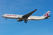 Airbus A330-303 - A7-AEB operated by Qatar Airways
