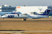 Bombardier DHC-8-Q402 Dash 8 - SP-EQD operated by LOT Polish Airlines