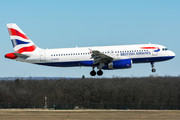Airbus A320-232 - G-EUYE operated by British Airways