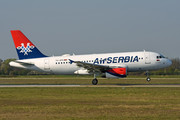 Airbus A319-132 - YU-APD operated by Air Serbia