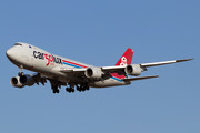 Boeing 747-8F - LX-VCC operated by Cargolux Airlines International