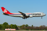 Boeing 747-8F - LX-VCF operated by Cargolux Airlines International