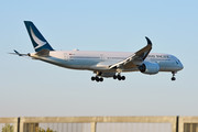 Airbus A350-941 - B-LRC operated by Cathay Pacific Airways