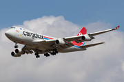 Boeing 747-400F - LX-RCV operated by Cargolux Italia