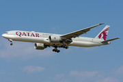 Boeing 777-300ER - A7-BAH operated by Qatar Airways