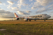 Boeing 747-8F - LX-VCM operated by Cargolux Airlines International