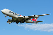 Boeing 747-8F - LX-VCG operated by Cargolux Airlines International