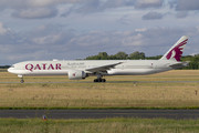 Boeing 777-300ER - A7-BER operated by Qatar Airways