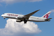 Boeing 787-8 Dreamliner - A7-BCB operated by Qatar Airways