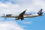 Embraer E195LR (ERJ-190-200LR) - SP-LNB operated by LOT Polish Airlines