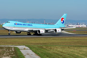 Boeing 747-8F - HL7609 operated by Korean Air Cargo