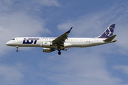 Embraer E195IGW (ERJ-190-200IGW) - SP-LNM operated by LOT Polish Airlines