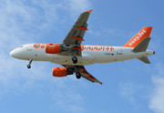 Airbus A319-111 - G-EZIV operated by easyJet