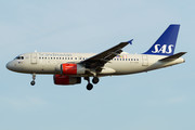 Airbus A319-132 - OY-KBR operated by Scandinavian Airlines (SAS)