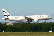 Airbus A320-232 - SX-DVK operated by Aegean Airlines