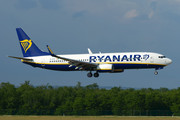 Boeing 737-800 - EI-DYZ operated by Ryanair