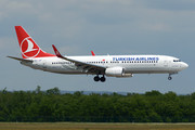 Boeing 737-800 - TC-JZF operated by Turkish Airlines