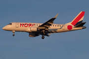 Embraer E170LR (ERJ-170-100LR) - F-HBXK operated by HOP!