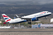 Airbus A320-251N - G-TTND operated by British Airways