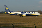 Boeing 737-800 - EI-EVH operated by Ryanair