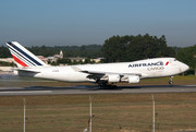 Boeing 747-400ERF - F-GIUA operated by Air France Cargo