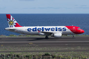 Airbus A320-214 - HB-JJL operated by Edelweiss Air