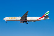 Boeing 777-300ER - A6-ECJ operated by Emirates