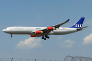 Airbus A340-313E - LN-RKG operated by Scandinavian Airlines (SAS)