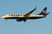 Boeing 737-800 - EI-EKH operated by Ryanair