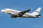 Airbus ACJ318-112 - A6-CAS operated by Constellation Aviation