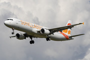 Airbus A321-211 - OY-VKC operated by Sunclass Airlines