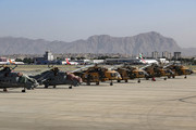 Kabul Int`l airport overview