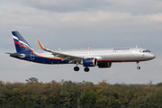 Airbus A321-251NX - VP-BXT operated by Aeroflot